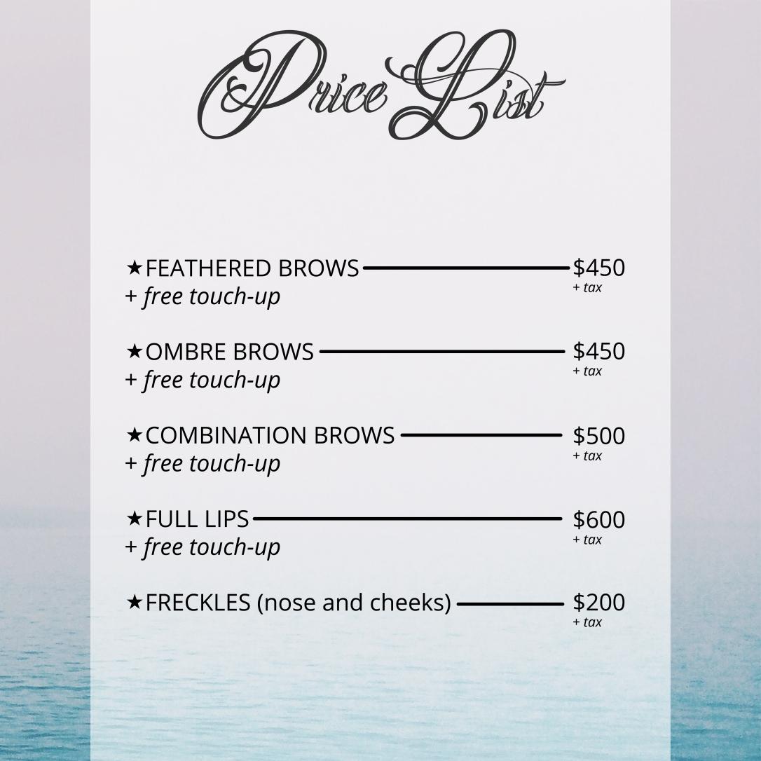Price List-01